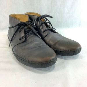 Cole Haan Chukka Ankle Boots Mens 9 Brown Leather